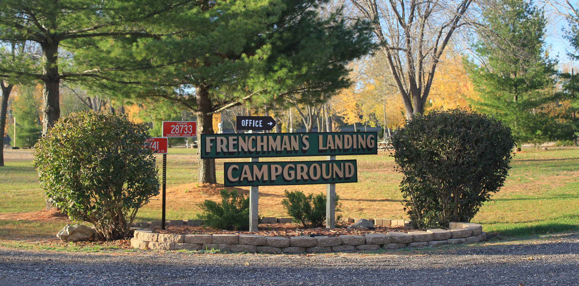Frenchman's Landing Campground banner image
